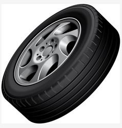 Alloy wheel vector
