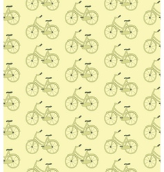 bike pattern vector image