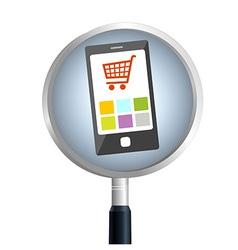SmartPhoneSearch vector image