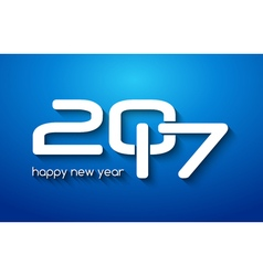 New year 2017 poster design template new year vector