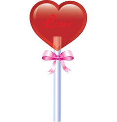 valentine sweets vector image vector image