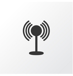 access point icon symbol premium quality isolated vector image