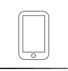 cellphone icon design vector image
