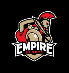 empire sport logo vector image