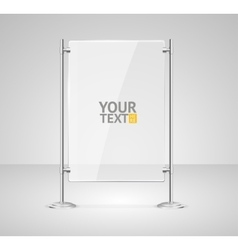 Glass Screen Banner vector