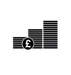 money finance sign vector image