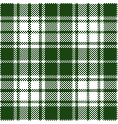 Moss green tartan plaid seamless pattern vector