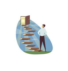 Motivation business success goal achievement vector