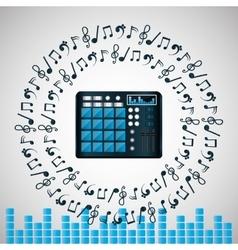 Music icon design vector image
