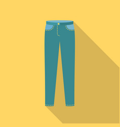 pants icon of for web and vector image