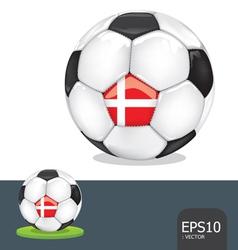 soccer euro ball vector image