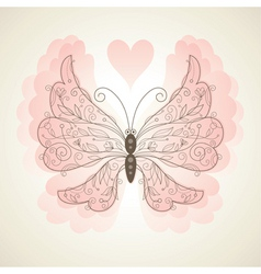 vector butterfly vector image