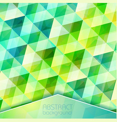 abstract crystal grid background vector image vector image