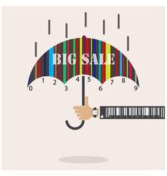 Creative abstract shopping logo design vector image vector image