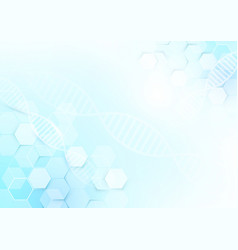 abstract medicine and science concept background vector image vector image