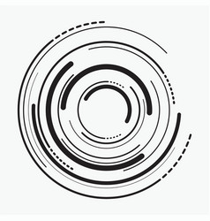 Abstract radial background concentric ripple vector