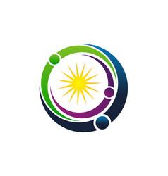career coaching logo design template vector image