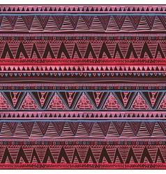 Ethnic boho seamless pattern Tribal art print vector