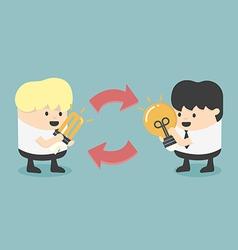 Exchange Ideas vector