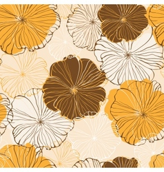 Flower seamless vector