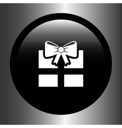 gift box design vector image
