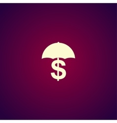 Money Protetstion icon Concept for vector image