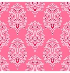 Luxury damask seamless pattern vector image vector image