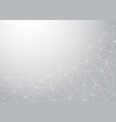 abstract computer generated on white background vector image vector image