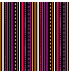 Stripes Seamless pattern Winter colors pattern vector image