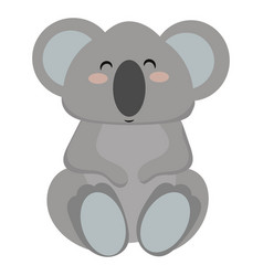 cartoon koala a koala vector image