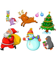 Charistmas cartoons vector image