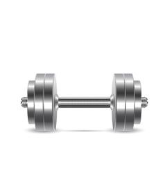 Dumbbell for fitness classes vector