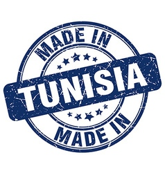 made in Tunisia vector image