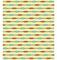 Seamless bright fun abstract horizontal pattern vector
