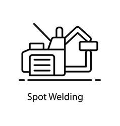 Spot welding vector