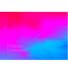 trendy gradient colors with abstract shapes vector image
