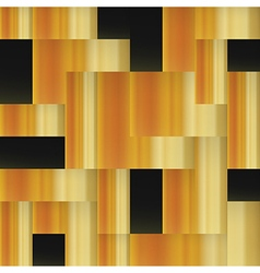 Golden squares abstract geometric golden seamless vector