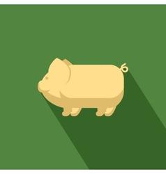 Pig icon vector image vector image