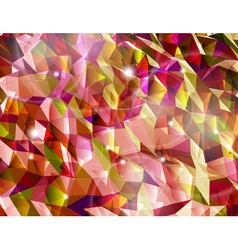Abstract red background Combination of triangle vector