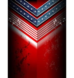 American flag backgrounds template vector