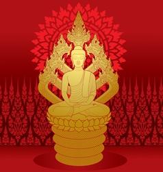 Buddha Miditation vector image