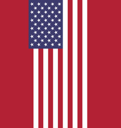 hanging vertical flag vector image