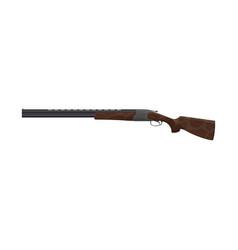 Hunt cartridge shot rifle shotgun vector