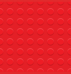 red plastic construction plate vector image