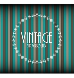 Retro Vintage Background Template vector image
