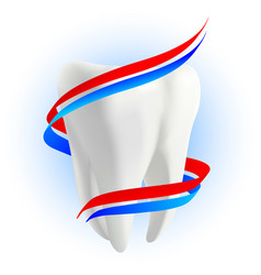 teeth protection concept vector image