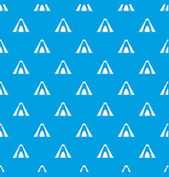 Tepee pattern seamless blue vector