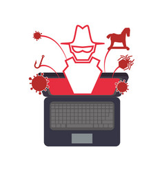 Pc laptop malware vector