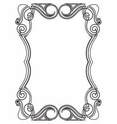 pattern for design frame vector image vector image