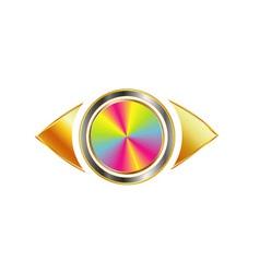 Golden Eye photography logo vector
